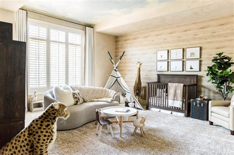 safari chic nursery stephanie avila hgtv