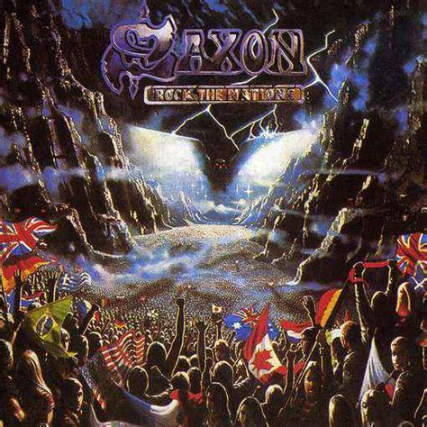 Cd My Nations saxon rock the nations reviews encyclopaedia metallum the metal archives