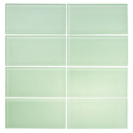 surf glass subway tile 3x6 for backsplashes showers more lush frosted 3x6 surf pale green matte glass subway tile