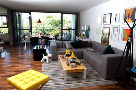 sofa oppa sof 225 modus cinza mesa de centro block e puff barcelona