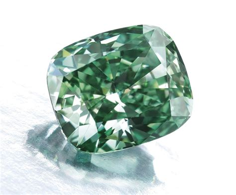 Diamon Green how are fancy colored diamonds formed graded