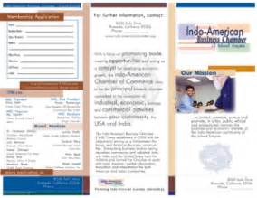 sle brochure template business brochures sles
