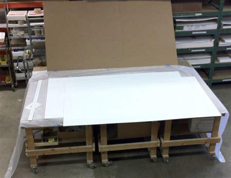 Rising Mat Board by 50 X 88 Custom Frame Metroframe S