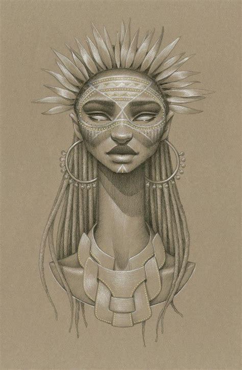 anyanwu character design  anatomy art drawings