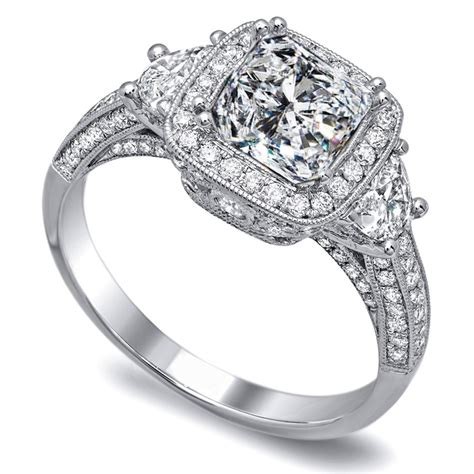 half moon engagement rings from mdc diamonds nyc