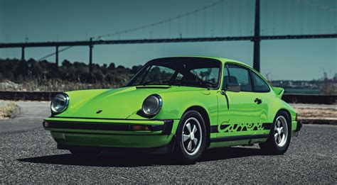 porsche 911 green 1974 porsche 911 2 7 is lime green for rm