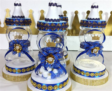 baby shower centerpiece for royal prince by