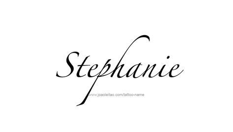 stephanie name tattoo design new designs for name yakuza