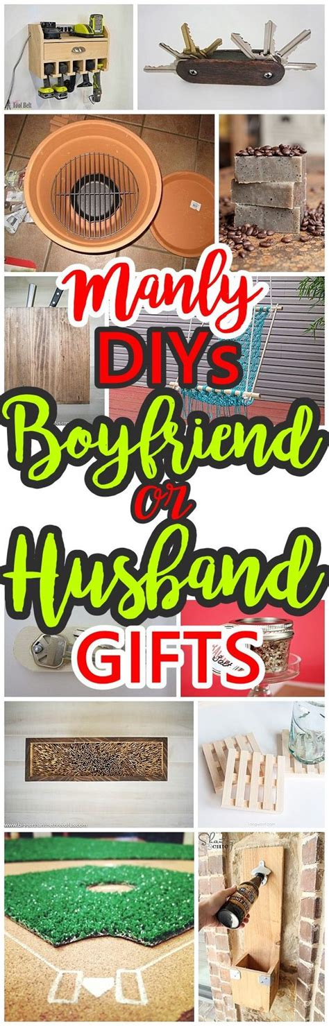 manly do it yourself boyfriend and husband gift ideas