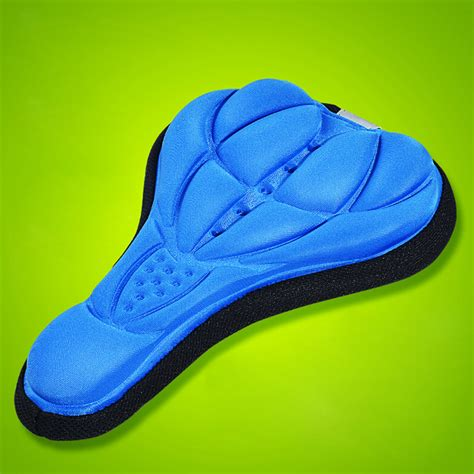 most comfortable cing pad cycling bike bicycle saddle comfortable silicone gel seat