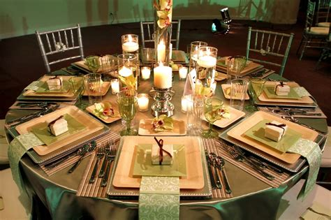 beautiful table settings green and brown google image result for http wedding pictures 05 onewed