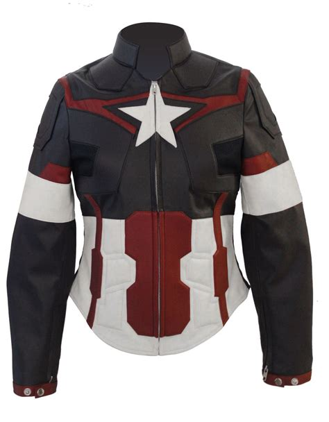 leather jacket captain america jacket for age of ultron jacket