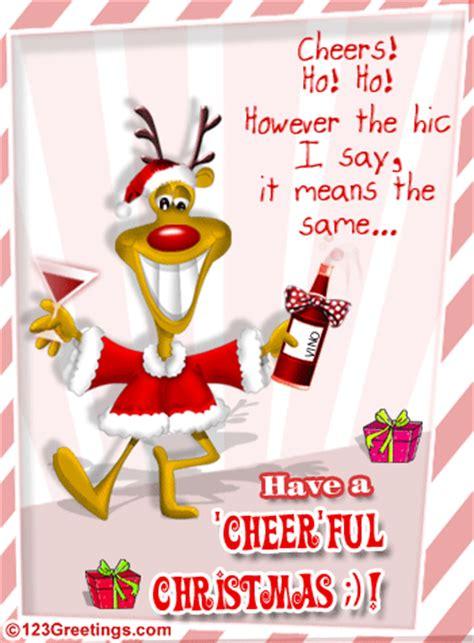 christmas cheer  friends  humor pranks ecards