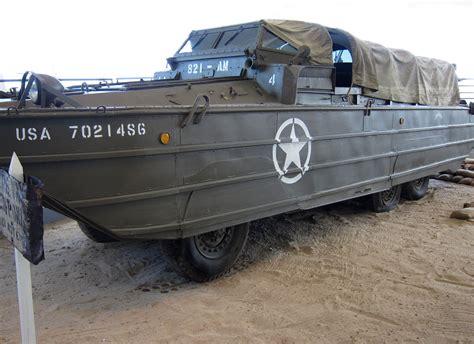 duck boat utah army duck used at d day in utah beach museum