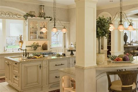 Cottage Style Kitchen Design by French Colonial Kitchen Colonial Craft Kitchens Inc