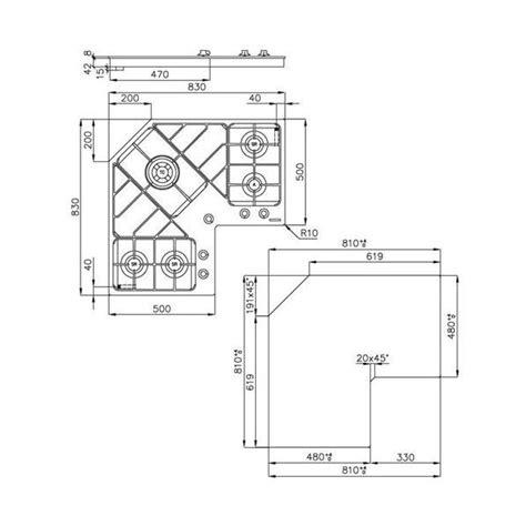 Fornelli Ad Angolo by Piano Cottura Ad Angolo Idee Di Design Per La Casa