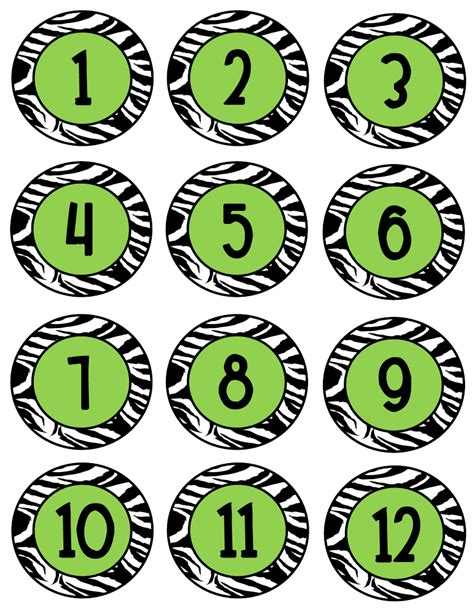 printable tags with numbers search results for free printable number tags calendar