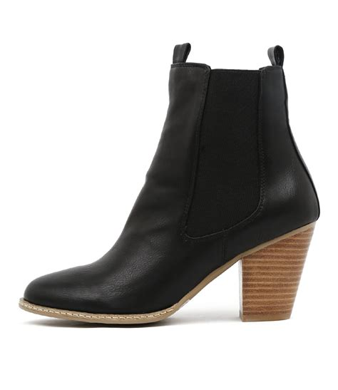 black casual boots new i billy cappy black womens shoes casual boots