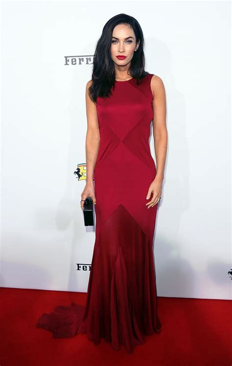Versace Dress On Megan Fox In A Poster by Megan Fox Wears Versace Gown At S 60th