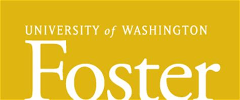 Of Washington Foster Mba Cost by Homer Curriculum Vitae