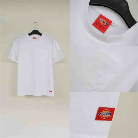 Kaos Polos Henley Lengan Panjang Original Kh49 jual t shirts baru dickies basic t shirts pocket with label white original terbaru murah