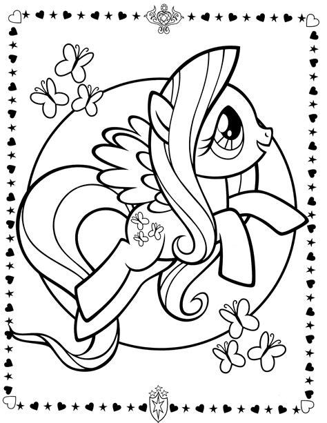 My Little Pony 8 Coloringcolor Com My Pony Friendship Coloring Pages