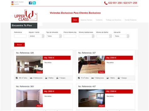 buscador de pisos de alquiler aplicaci 243 n web buscador pisos para inmobiliaria