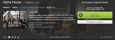 Alpha House Review by Look Review Prime Instant Tv Series