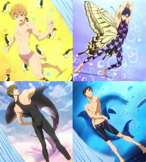 anime free kyoani free swimsuit fanservice by cchibitan on