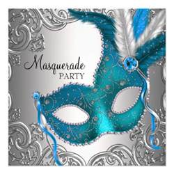 6 000 masquerade party invitations masquerade party