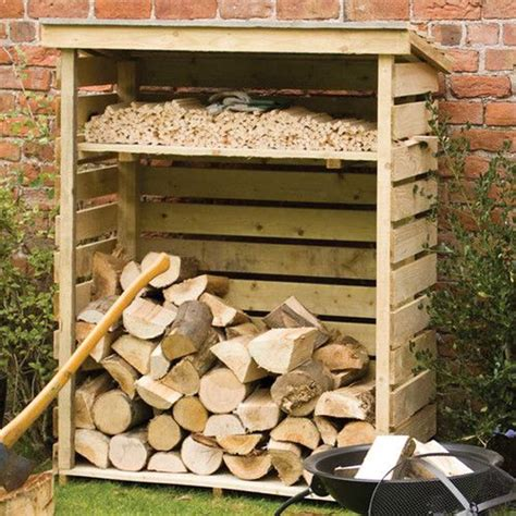 diy firewood log rack 20 excellent diy outdoor firewood storage ideas home