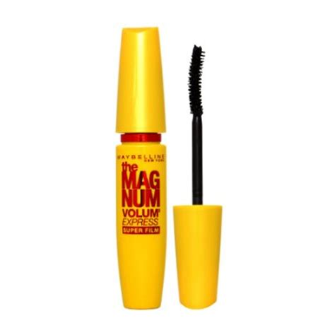 Mascara Maybelline Magnum Volum maybelline the magnum volum express mascara black east end cosmetics
