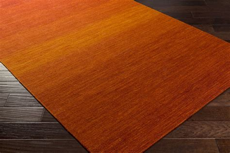 Burnt Orange Area Rug Surya Chaz Chz 5004 Tangerine Burnt Orange Cherry Area Rug