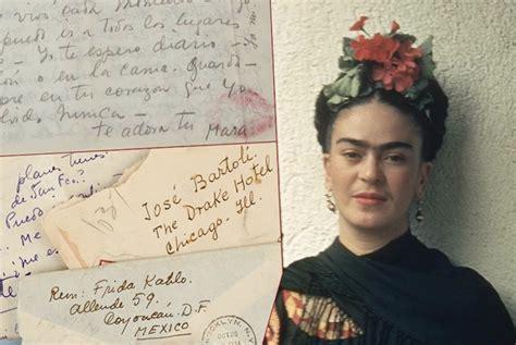 frida kahlo lettere appassionate le appassionate lettere di frida a jos 233 bartoli l amante