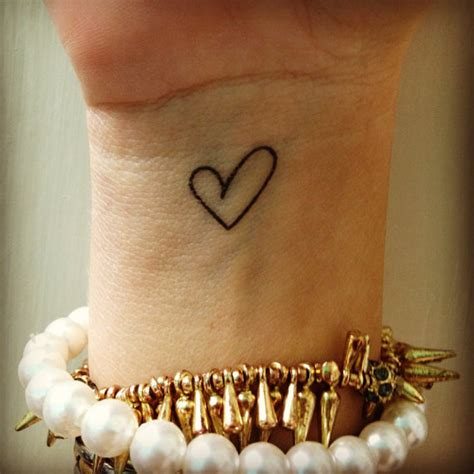 cute heart tattoos wrist tattoos 187 ideas