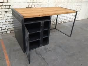 bureau rg bu005 giani desmet meubles indus bois m 233 tal