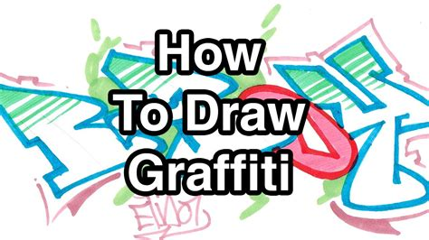 how to doodle your name for beginners step by step how to draw graffiti letters write b boy in