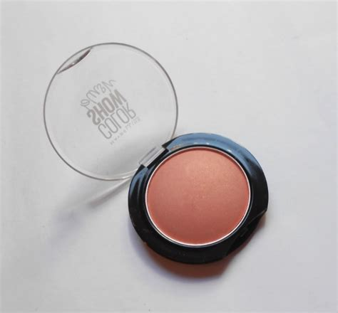 Maybelline Colour Show Blush On maybelline wooden color show blush review