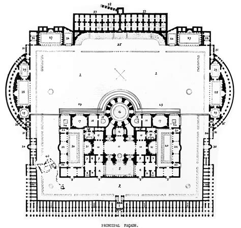 baths of caracalla floor plan baths of caracalla layout 183 piranesi in rome