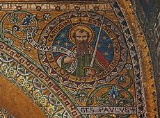 St Paul the Apostle | A beautiful mosaic of St Paul in ... Ephesians 2 8