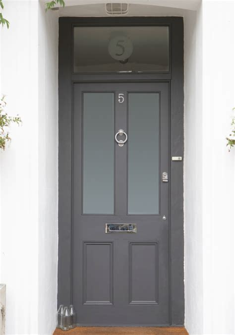 Ten Best Front Door Colours For Your House Maria Killam Gray Front Door