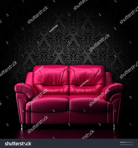 red couch photography glamour red sofa stock photo 52673773 shutterstock
