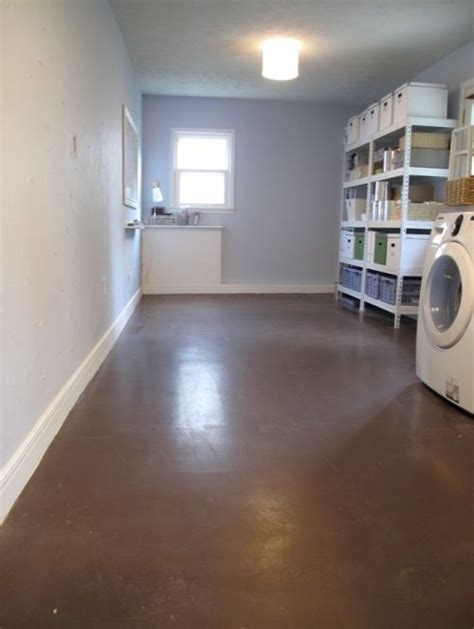 How To Clean Painted Concrete Floors by Painted Concrete Floors Home Paint Colors