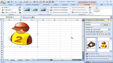 imagenes predisenadas video tutorial insertar imagenes predise 241 adas excel youtube
