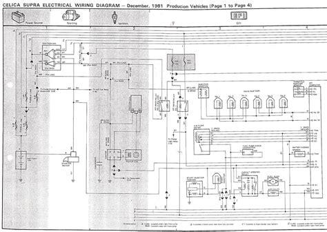 1988 toyota celica supra wiring diagrams 1988 toyota