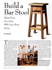Bar Stool Plans Free Bar Stool Plans Woodwork City Free Woodworking Plans