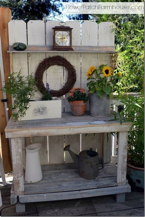 garden potting bench ideas potting bench potting benches gardening ideas pinterest