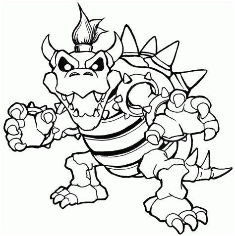 high quality printable coloring pages bowser jr coloring pages printable high quality coloring