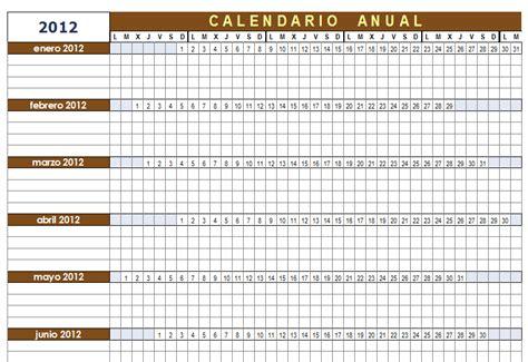Calcular Calendario Gratis Plantilla Calendario Anual Configurable Para Openoffice Calc