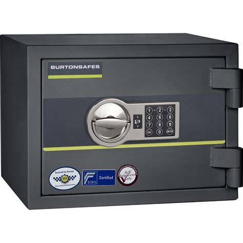 burton home safe size 1 electronic lock burton safes